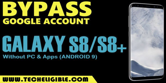 frp bypass samsung galaxy s8 android 9 without pc