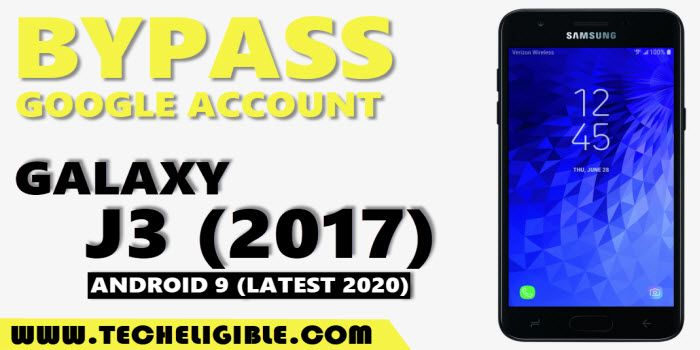 Bypass frp Galaxy J3 2017 Android 9