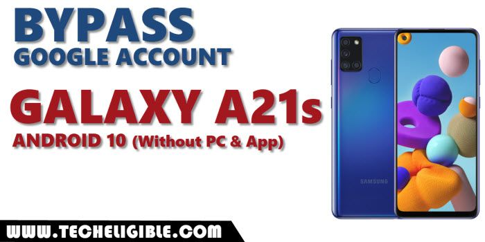 bypass frp galaxy A21s android 10