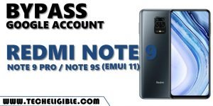 Bypass frp Redmi Note 9 EMUI 11 without APP