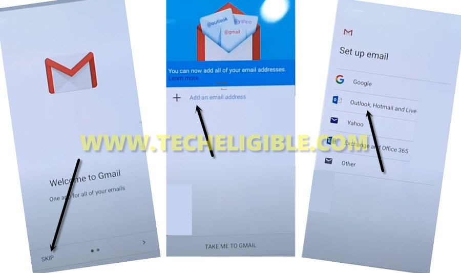 add an gmail address to bypass frp Xiaomi Mi 9