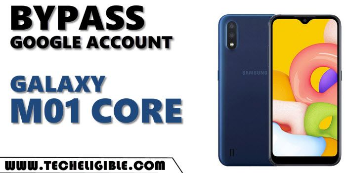 bypass frp galaxy M01 Core without PC