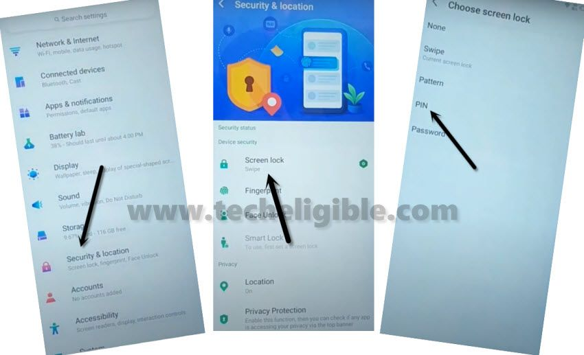 SETUP New PIN in Infinix S5 to bypass frp
