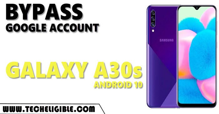 Unlock FRP Samsung A30s Android 10