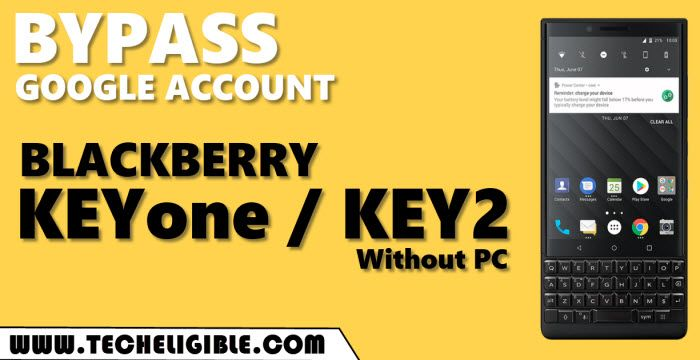 bypass frp BlackBerry KEYone and KEY 2