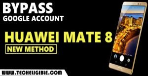 Bypass frp Huawei Mate 8 without PC