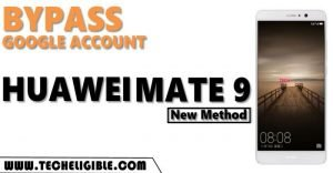 Bypass frp hauwei mate 9 by new method
