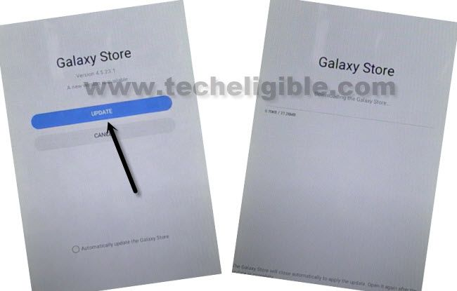 update galaxy store to bypass frp galay tab a kids edition android 10