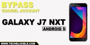 Bypass google account galaxy J7 Nxt