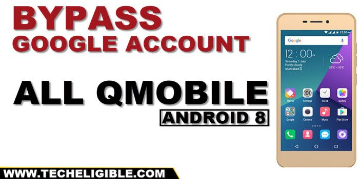 Bypass frp any Qmobile Android 8 without APP