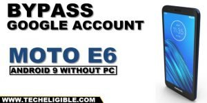 bypass google account MOTO E6 Android 9