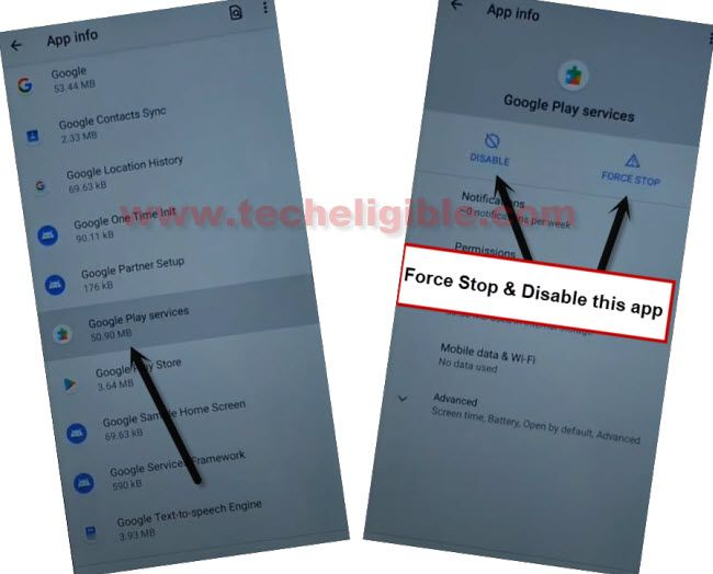 disable google play services to frp remove all nokia android 11