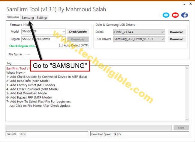 download samefirm tool to bypass frp samsung S21 Ultra