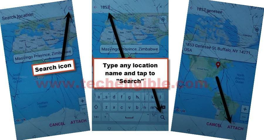 SEARCH Location in google map