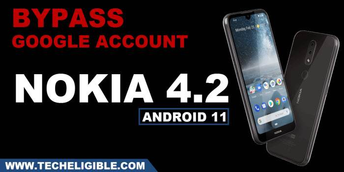 how to bypass google account frp lock Nokia 4.2 Android 11