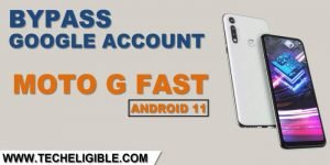 how to bypass frp moto g fast Android 11 without PC